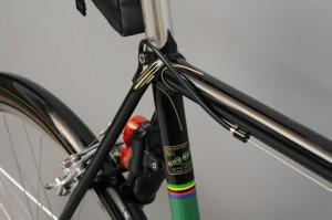 Alan Woods Club Bike- Seat Lug (Photo Courtesy of Alan Woods)