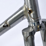 Stevenson Custom Bicycle Fork Crown Detail