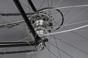Alan Woods Club Bike- Curtis Odom Hub (Photo Courtesy of Alan Woods)