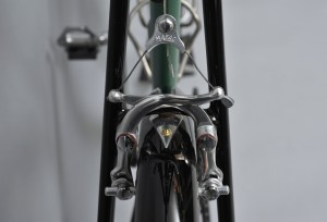 Alan Woods Club Bike- Brake Bridge Detail (Photo Courtesy of Alan Woods)