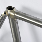 Stevenson Custom Bicycle Frame Seat Lug Detail