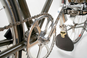 Bill Stevenson's Fixed Gear Crankset Detail