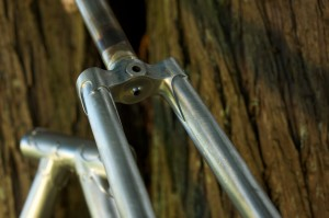 Fork Detail 1, Paul Cruz Sportive Frame (Photo courtesy of Doug Rosenfield)