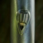 Cable Guide Detail, Paul Cruz Sportive Frame (Photo courtesy of Doug Rosenfield)
