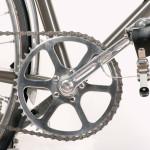Bill Stevenson's Fixed Gear Crankset Detail (Photo Courtesy of Paul Reynolds)