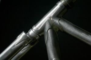 Head Tube Detail, Laura Phenix Cycle Sportive Frame (Photo courtesy of Paul Reynolds)