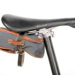 Bill Stevenson's Fixed Gear Saddle Detail (Photo Courtesy of Paul Reynolds)