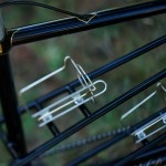 Stevenson Custom Bicycle Tandem Frame Detail