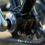 Stevenson Custom Bicycles Bottom Bracket Eccentric Detail