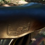 Stevenson Custom Bicycles Tandem Saddle Detail